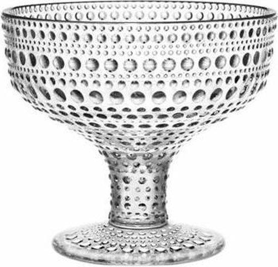 Iittala Kastehelmi Schaal - 35 cl - Ø 12 cm - Glas - Transparant