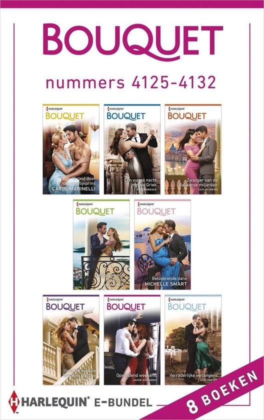 Bouquet e-bundel nummers 4125 - 4132 - Carol Marinelli |