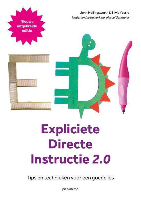 Boek cover Expliciete directe instructie van John Hollingsworth (Paperback)
