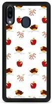 Galaxy M20 Softcase hoesje Apples and Birds