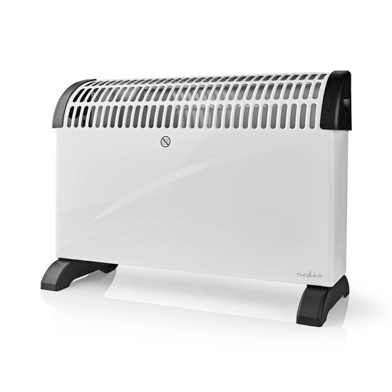 Convectorkachel | Thermostaat | 3 Standen | 2000 W | Wit