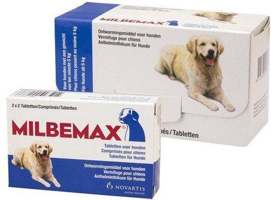 Ontwormingsmiddel - Hond - 2x2 tabletten