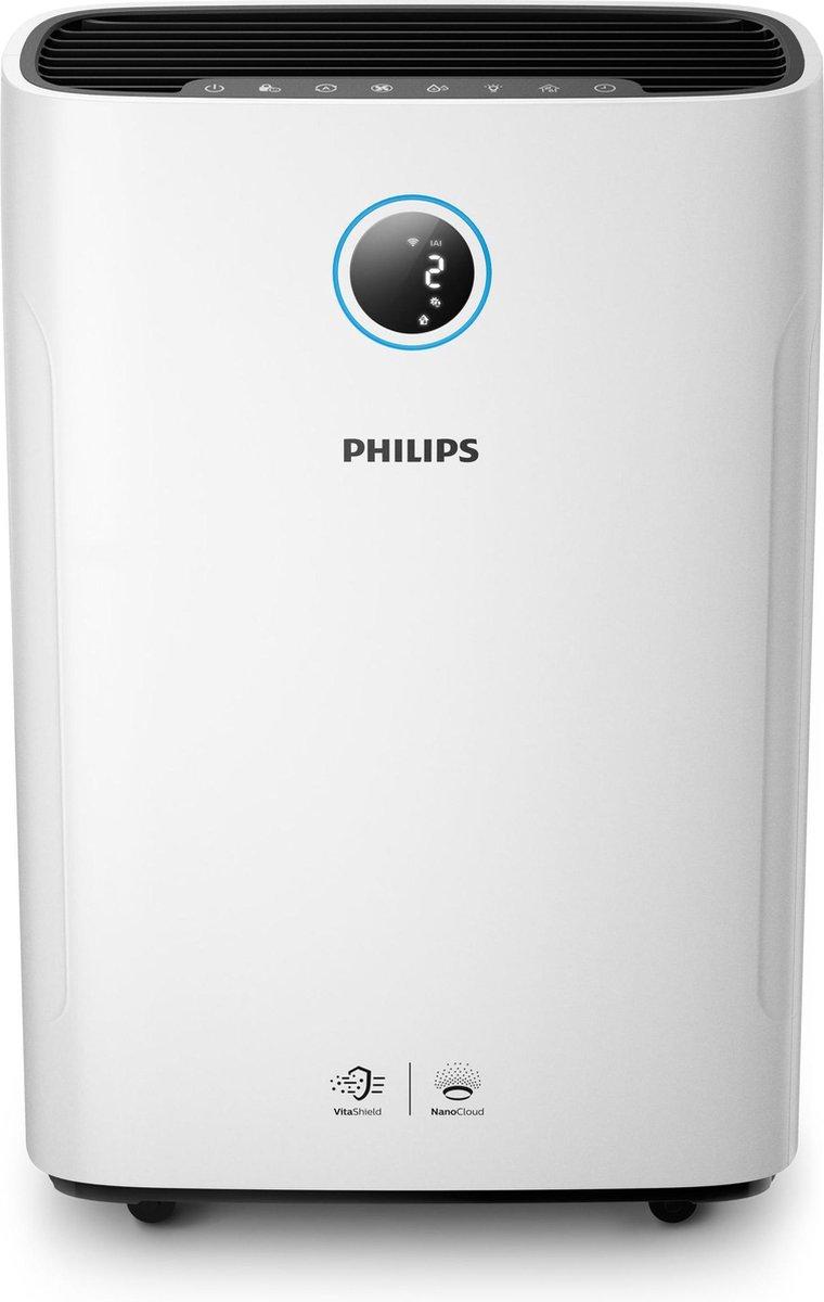 Philips AC2729/10 – 2-in-1 Luchtreiniger & Luchtbevochtiger – Wit