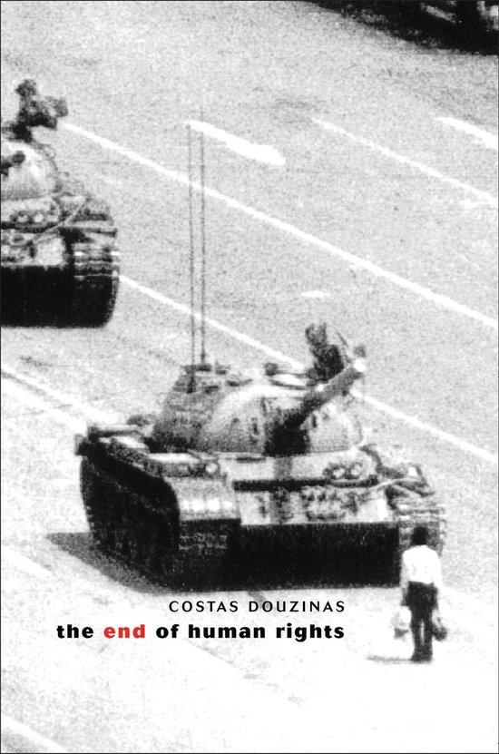 Boek cover The End of Human Rights van Professor Costas Douzinas