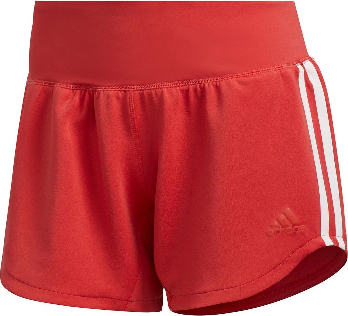   adidas 3 Stripes Woven Gym short dames rozewit