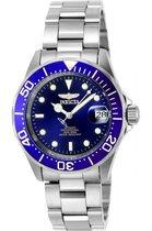 Invicta Pro Diver 9094 - Horloge - Heren - Staal - Zilverkleurig - Ø 40 mm