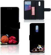 Nokia 3.2 Wallet Case met Pasjes Sports
