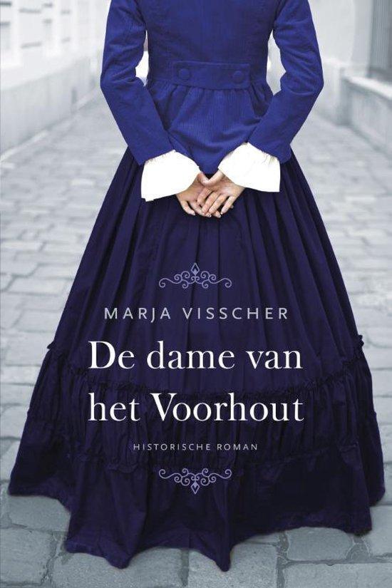 Boek cover De dame van het Voorhout van Marja Visscher (Paperback)