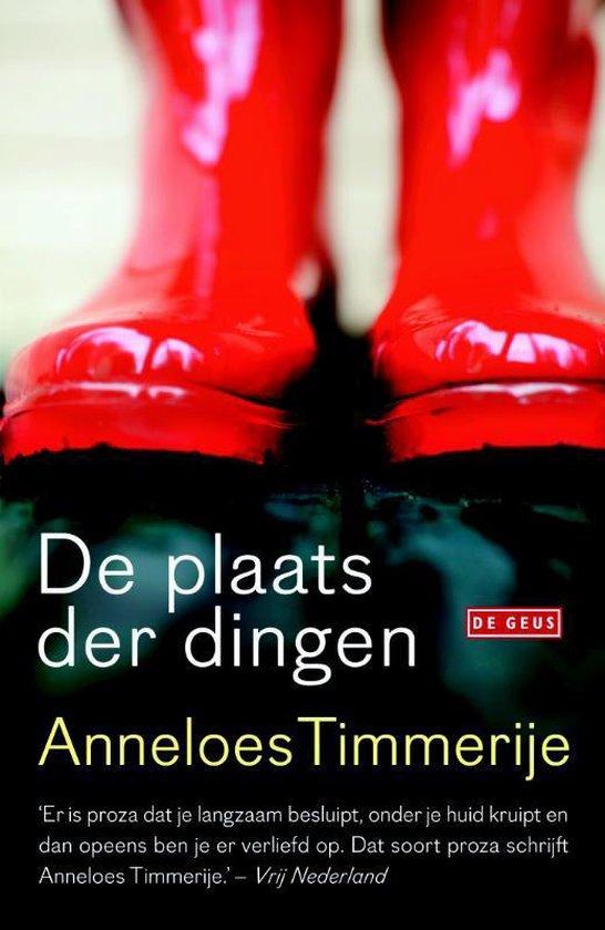 Boek cover Plaats der dingen van Anneloes Timmerije (Paperback)