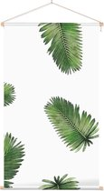 Textielposter Botanisch Bladpatroon 2 - 40 x 70 cm