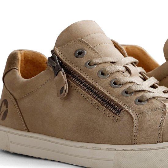 Travelin Roanne Nubuck - Casual Dames Sneakers Taupe Maat 37 GWVzKU