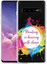 Galaxy S10 Hoesje Painting