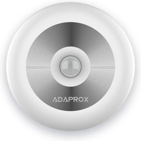 Adaprox – ledlamp oplaadbaar - dag en nacht sensor - voor gang en kast