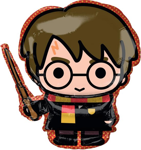 AMSCAN - Aluminium cartoon Harry Potter ballon - Decoratie > Ballonnen