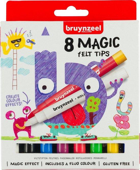 Afbeelding van Bruynzeel Kids 8 magische stiften