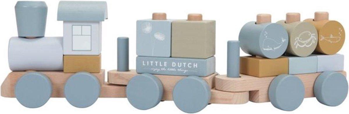 Little Dutch Blokkentrein - Ocean