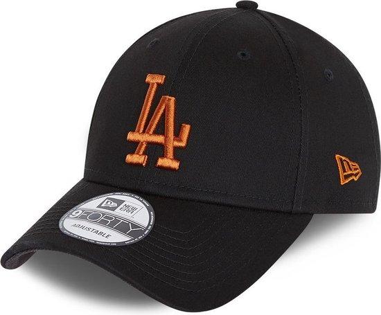 New Era 9Forty League Essential (940) LA Dodgers - Black/Bronze
