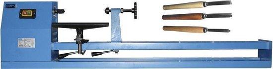 Güde 3-delige Houtdraaibank Set - 370W - 150x28x35cm - met houtdraaibeitels