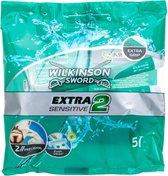 Wilkinson Sword Extra 2 Wegwerpscheermesjes Sensitive 5pcs