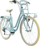 Ks Cycling Fiets Stadsfiets 28 inch Swan 6 versnellingen blauw - 51 cm