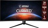 MSI Optix MAG342CQR - QHD Ultrawide Curved Gaming Monitor - 34 inch