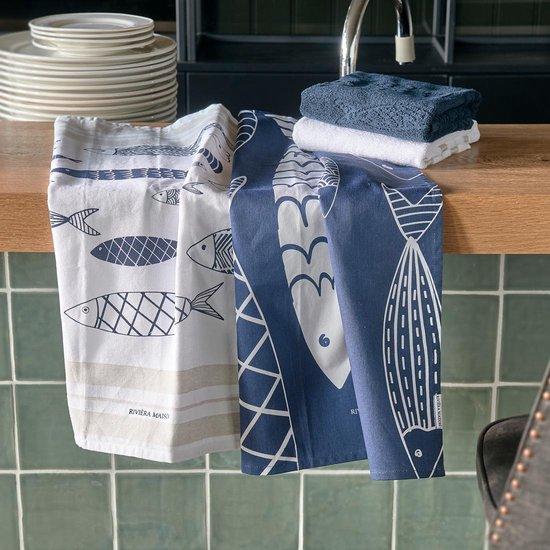 The Seafood Club Tea Towel 2 pieces