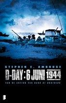 Boek cover D-Day: 6 juni 1944 van Stephen E Ambrose