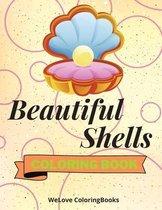 Beautiful Shells Coloring Book