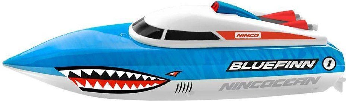 Ninco RC Nincocean Bluefinn Boot 24x9x8 cm Blauw