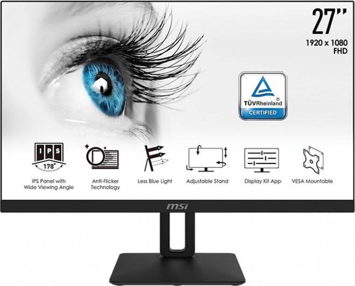MSI Pro MP271P – Full HD IPS Monitor – 27 inch