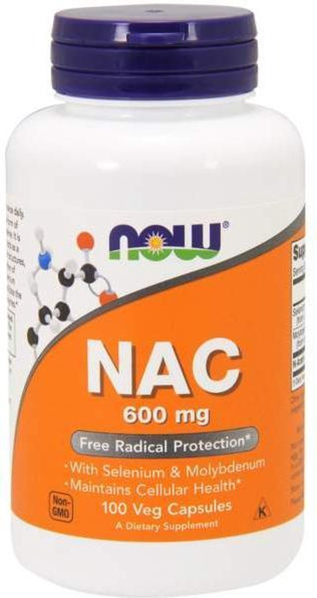 Now Foods - N-Acetyl Cysteine (NAC) - 100 Vegicaps
