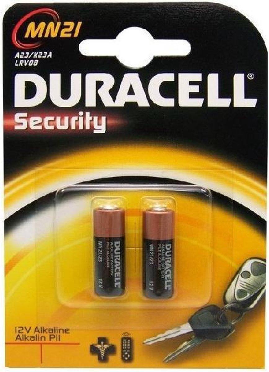 Duracell Alkaline MN21 batterij - 2 stuks