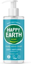 Happy Earth Pure Hand Soap Cedar Lime 300 ml - 100% natuurlijk