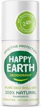 Happy Earth Pure Deodorant Roll-On Unscented 75 ml - 100% natuurlijk