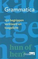 Boek cover Grammatica van Genootschap Onze Taal (Paperback)
