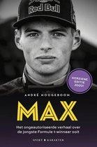 Boek cover MAX van Andre Hoogeboom