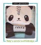 Wee Gallery  -   Knuffelboekje Panda