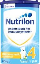 Nutrilon Dreumesmelk 4 Vanille  - vanaf 1 jaar - Flesvoeding - 800 gram