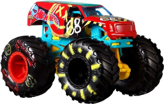 Hot Wheels Monster Trucks 1:64 Schaal DieCast  Town Hauler (Demo Derby)