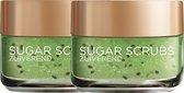 L'Oréal Paris Skin Expert Sugar Scrub Zuiverend met Kiwi - 2 x 50ml - Multiverpakking