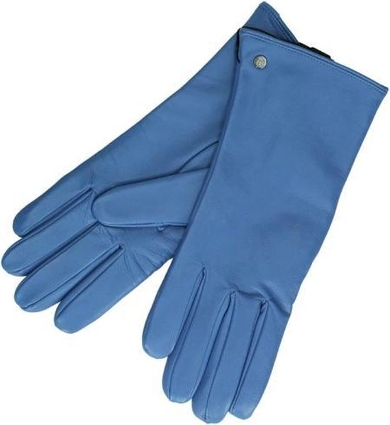 Roeckl Handschoenen New Classic S - blauw Leer - blauw