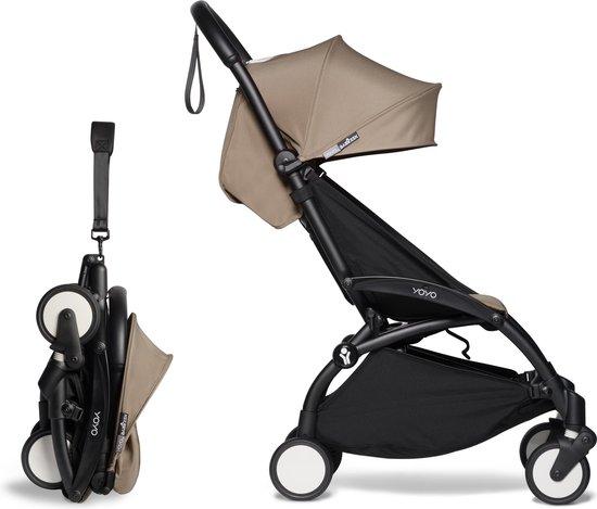 Product: Babyzen YOYO² buggy 6+ taupe frame zwart, van het merk Babyzen