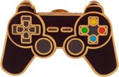 Game Over Controller pin badge