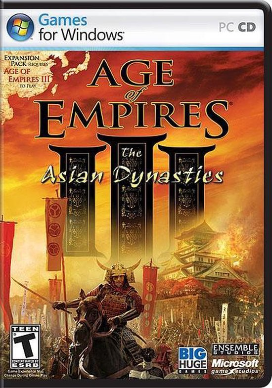 Age Of Empires 3 – Asian Dynasties – PC