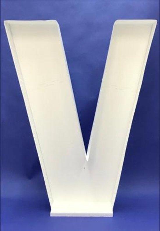Ballon Mozaiek frame Letter V (100cm)