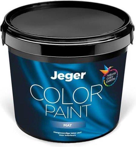 Jeger muurverf Mat voor binnen - 5 liter - Kleur Signaalrood (RAL 3001)
