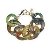 CAMPS & CAMPS - armband - rainbow olijfgroen