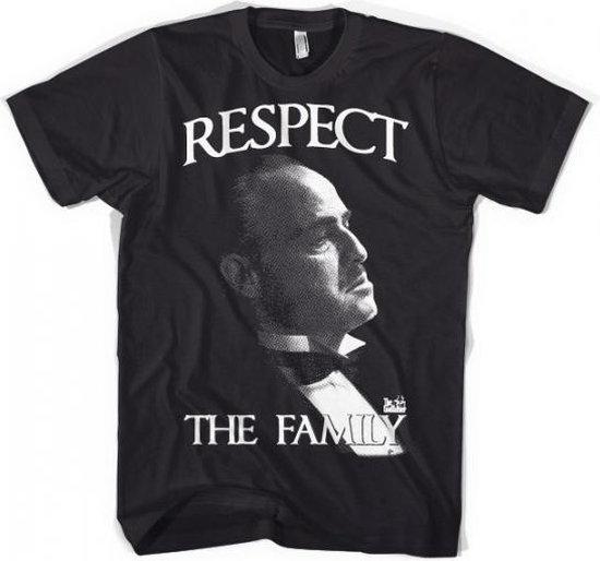 Godfather Respect t-shirt heren 2xl