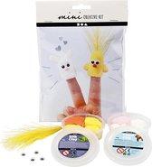 Mini Creative Kit, , boetseren - vingerpoppen, 1set