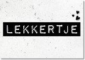 Black and White Cards - Lekkertje